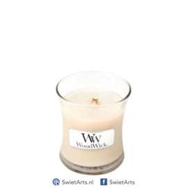 WoodWick Mini Candle Vanilla Bean