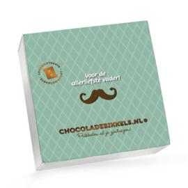 Chocoladebikkels 1 Doos met 20 Bikkels Vaderdag (Zelf samenstellen)
