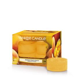 Yankee Candle Tea Light Candles Mango Peach Salsa