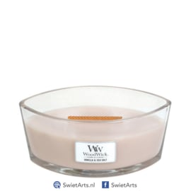 WoodWick Ellipse Candle Vanilla & Sea Salt