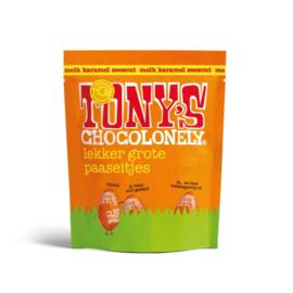 Tony's Chocolonely 180 Gram Paaseitjes Melk Karamel Zeezout (Zak)