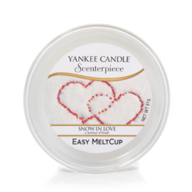Yankee Candle Scenterpiece Easy MeltCup Snow In Love