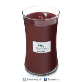 WoodWick Large Candle Black Cherry