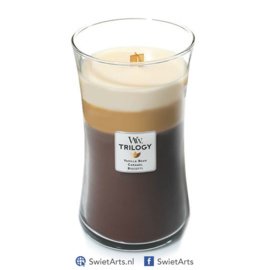 WoodWick Large Candle Cafe Sweets Trilogy