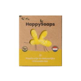 HappySoaps Anti-Insect Bar – Citronella & Krachtige Munt