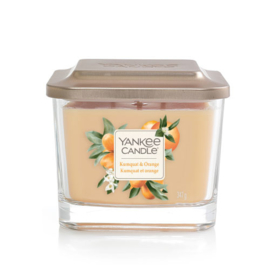 Yankee Candle Medium 3-Wick Square Candle Kumquat & Orange
