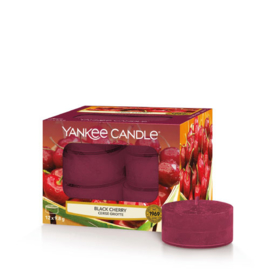 Yankee Candle Tea Light Candles Black Cherry