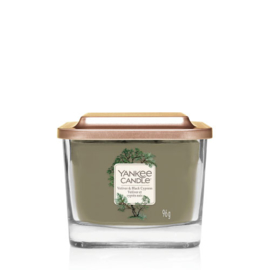 Yankee Candle Elevation Small Jar Vetiver & Black Cypress