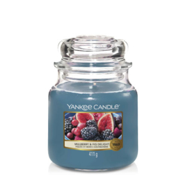 Yankee Candle Medium Jar Mulberry & Fig Delight
