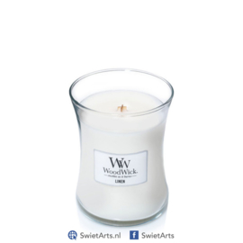 WoodWick Medium Candle Linen