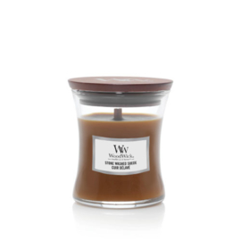 WoodWick Mini Candle Stone Washed Suede