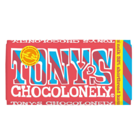 Tony's Chocolonely Melk Shortbread Karamel (180 gram)