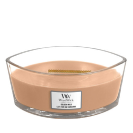 WoodWick Ellipse Candle Golden Milk