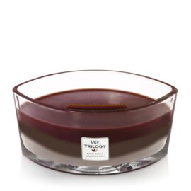 WoodWick Trilogy Forest Retreat Ellipse Candle