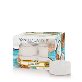Yankee Candle Tea Light Candles Coconut Splash