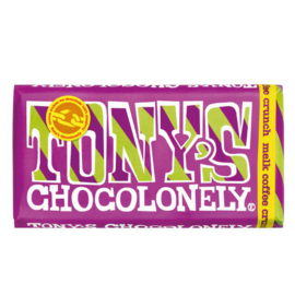 Tony's Chocolonely Melk Coffee Crunch (180 gram)