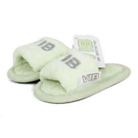 VIB Baby Slippers Mint / Zilver