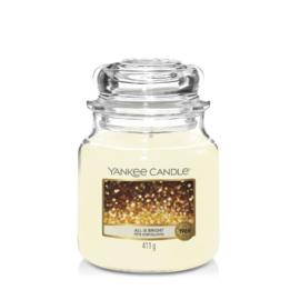 Yankee Candle Medium Jar All is Bright