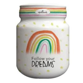 Hallmark Spaarpot / Moneybank (Follow Your Dreams)