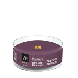 WoodWick Petite Candle Dark Poppy