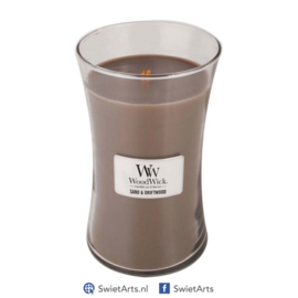 WoodWick Large Candle Sand & Driftwood