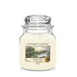 Yankee Candle Medium Jar Twinkling Lights