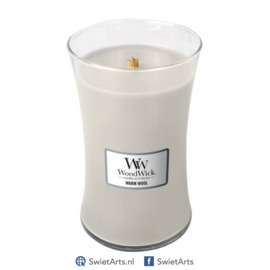 WoodWick Large Candle Warm Wool