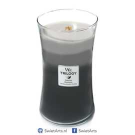 WoodWick Large Candle Warm Woods Trilogy