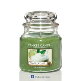 Yankee Candle Medium Jar Vanilla Lime