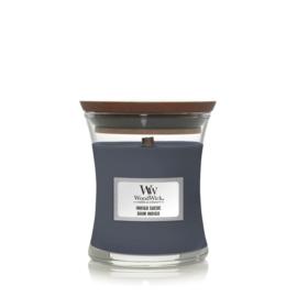 WoodWick Mini Candle Indigo Suede