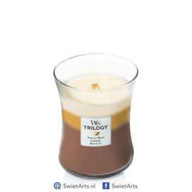 WoodWick Medium Candle Cafe Sweets Trilogy