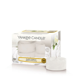 Yankee Candle Tea Light Candles Fluffy Towels