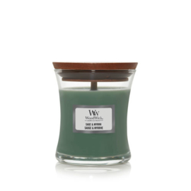 WoodWick Mini Candle Sage & Myrrh