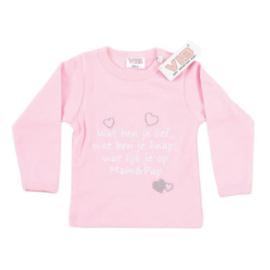 VIB T-Shirt Roze (Wat ben je lief...) 0-3 Maanden