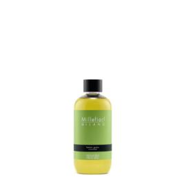 Millefiori Milano Geurstokjes Navulling 250ml Lemon Grass