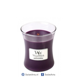 WoodWick Medium Candle Spiced Blackberry