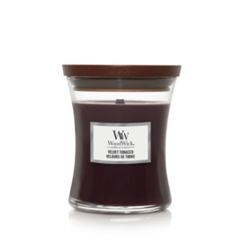 WoodWick Medium Candle Velvet Tobacco