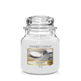 Yankee Candle Medium Jar Baby Powder