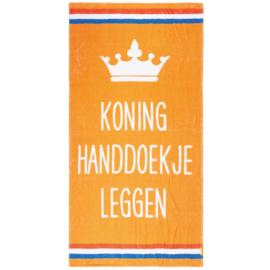 Texy Towel Strandhanddoek (Koning Handdoekje leggen)