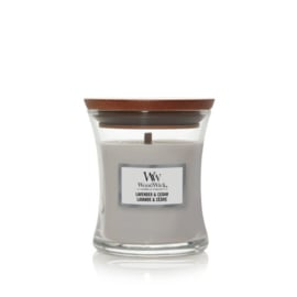 WoodWick Mini Candle Lavender & Cedar