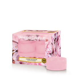Yankee Candle Tea Light Candles Cherry Blossom