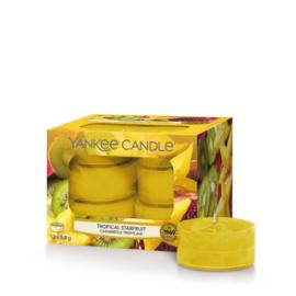 Yankee Candle Tea Light Candles Tropical Starfruit