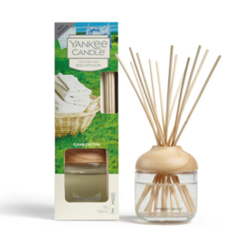 Yankee Candle Reed Diffuser 120ml Clean Cotton