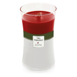 WoodWick Large Candle Winter Garland Trilogy