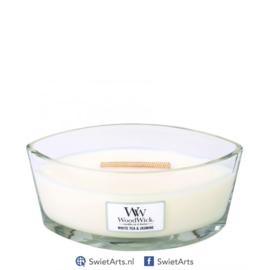 WoodWick Ellipse Candle White Tea & Jasmine