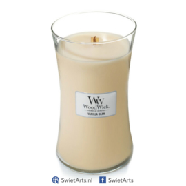 WoodWick Large Candle Vanilla Bean