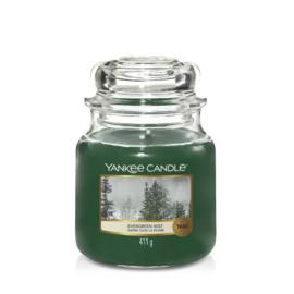 Yankee Candle Medium Jar Evergreen Mist