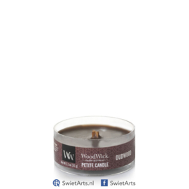 WoodWick Oudwood Petite Candle