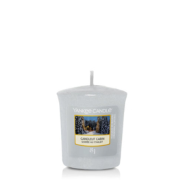 Yankee Candle Votive Candlelit Cabin