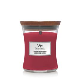 WoodWick Medium Candle Elderberry Bourbon